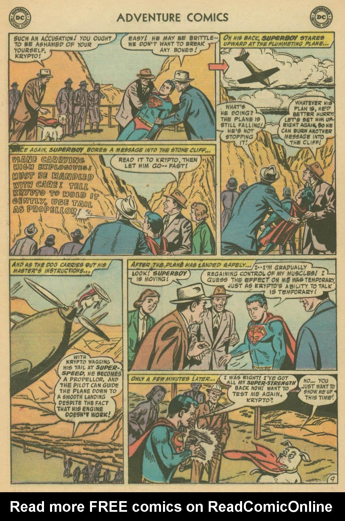 Read online Adventure Comics (1938) comic -  Issue #239 - 11