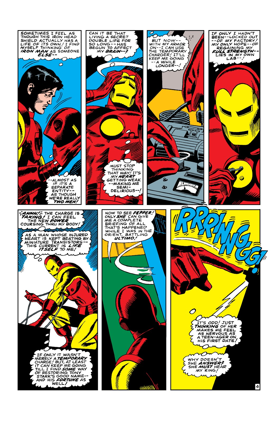 Read online Marvel Masterworks: The Invincible Iron Man comic -  Issue # TPB 3 (Part 4) - 6
