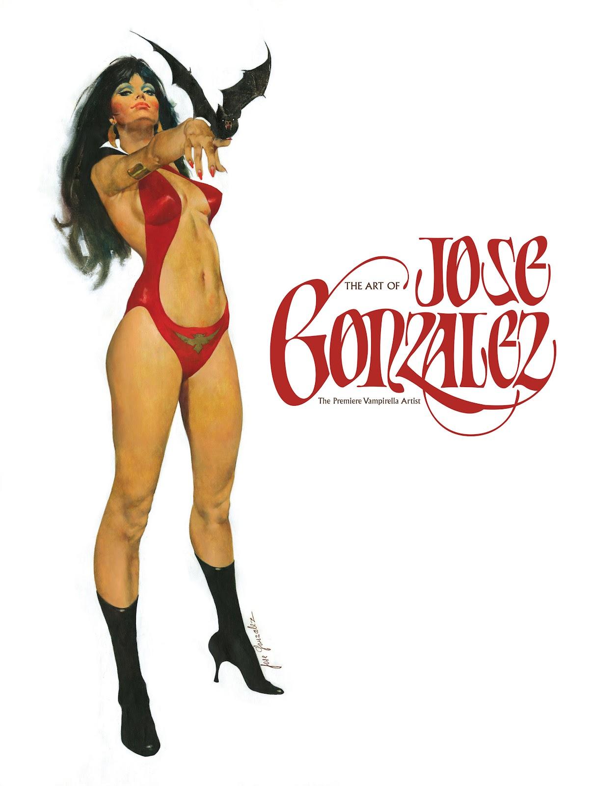 Read online The Art of Jose Gonzalez comic -  Issue # TPB (Part 1) - 2