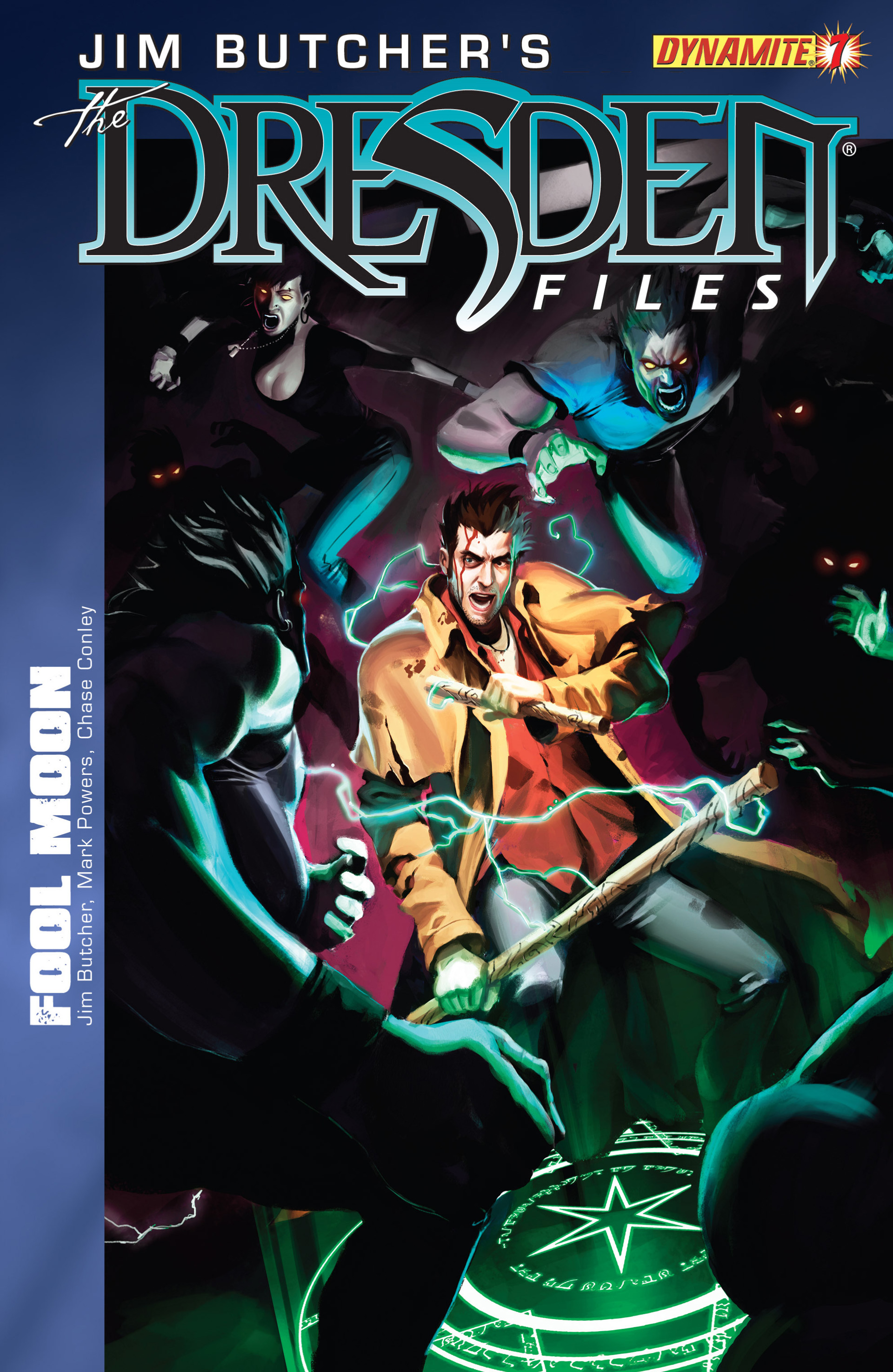 Read online Jim Butcher's The Dresden Files: Fool Moon comic -  Issue #7 - 1