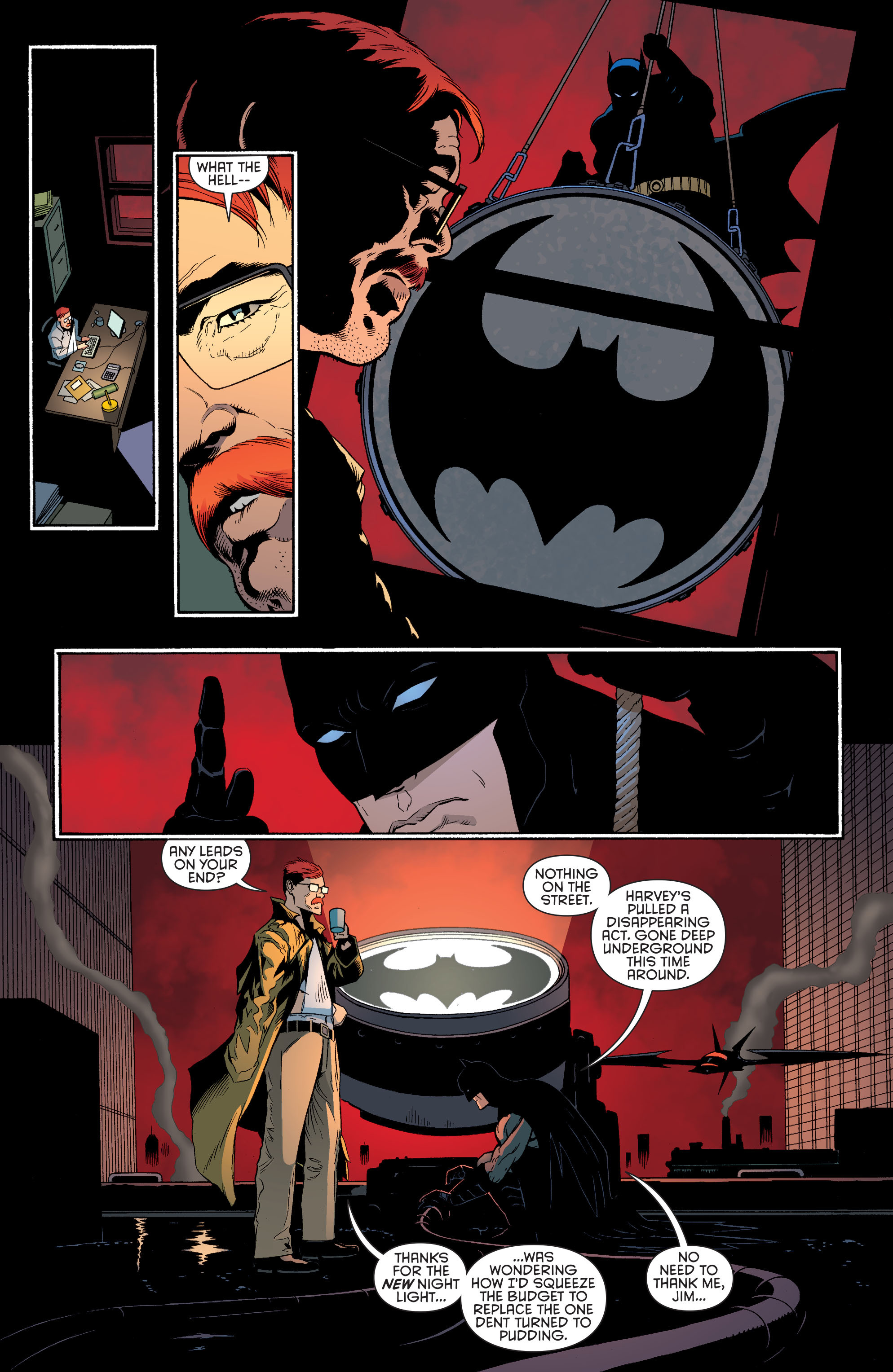 Read online Batman and Robin (2011) comic -  Issue #28 - Batman and Two-Face - 20