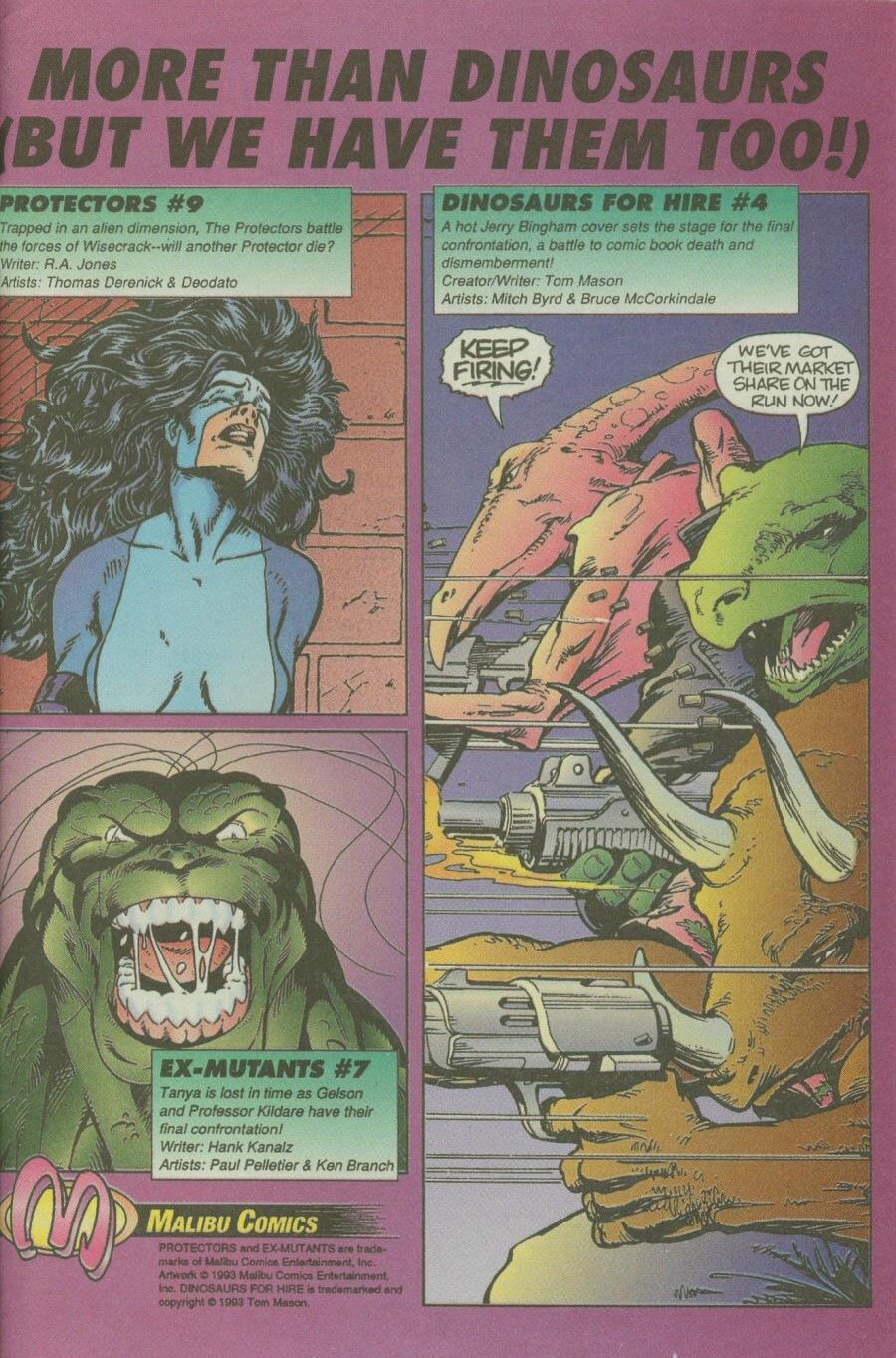 Read online Ex-Mutants comic -  Issue #6 - 33