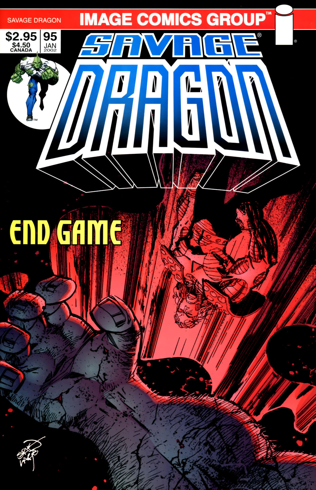 The Savage Dragon (1993) Issue #95 #98 - English 1