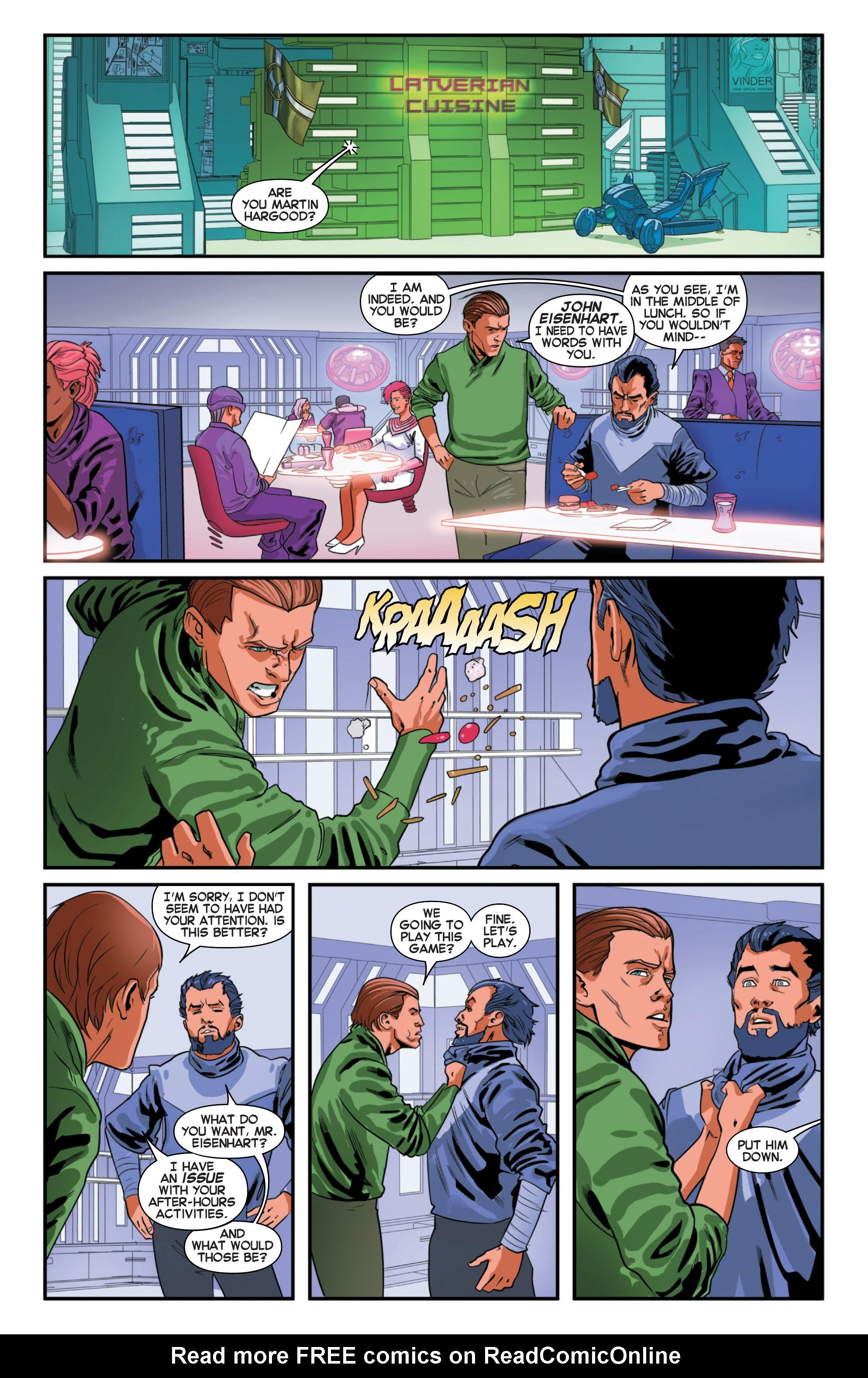 Read online Secret Wars 2099 comic -  Issue #2 - 17
