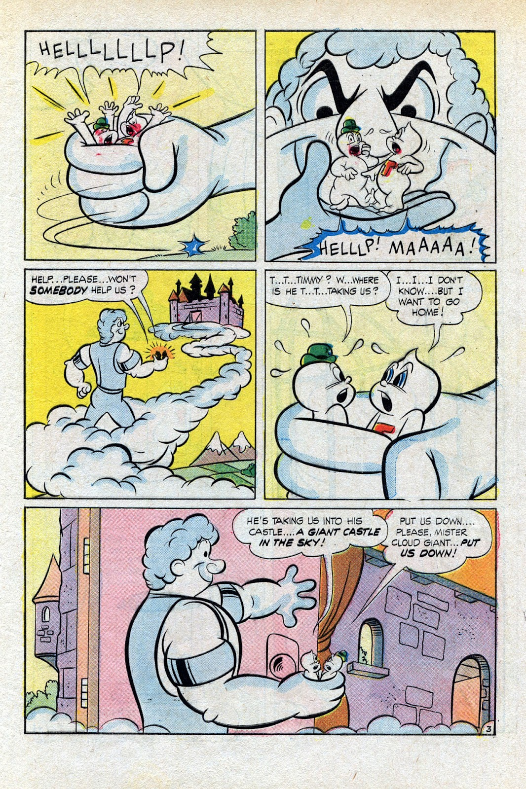 Read online Timmy the Timid Ghost comic -  Issue #15 - 5