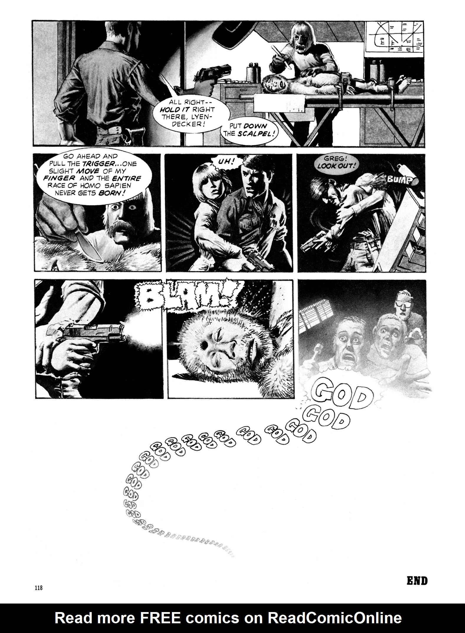 Read online Eerie Archives comic -  Issue # TPB 18 - 119