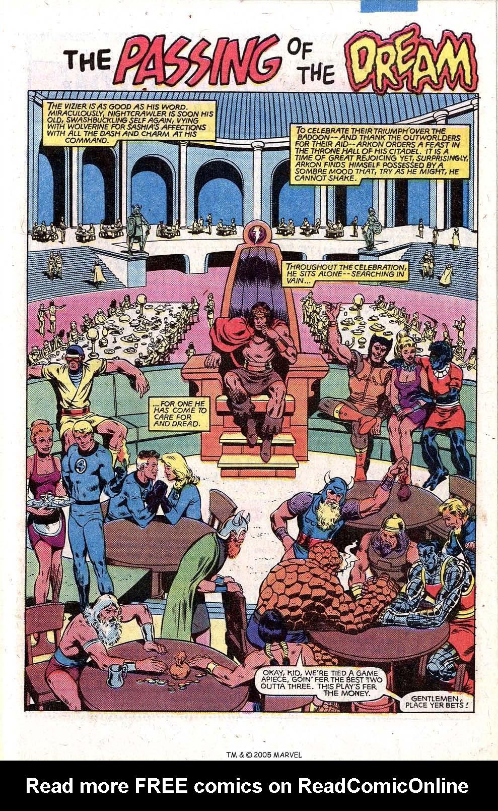 Read online Uncanny X-Men (1963) comic -  Issue # _Annual 5 - 45