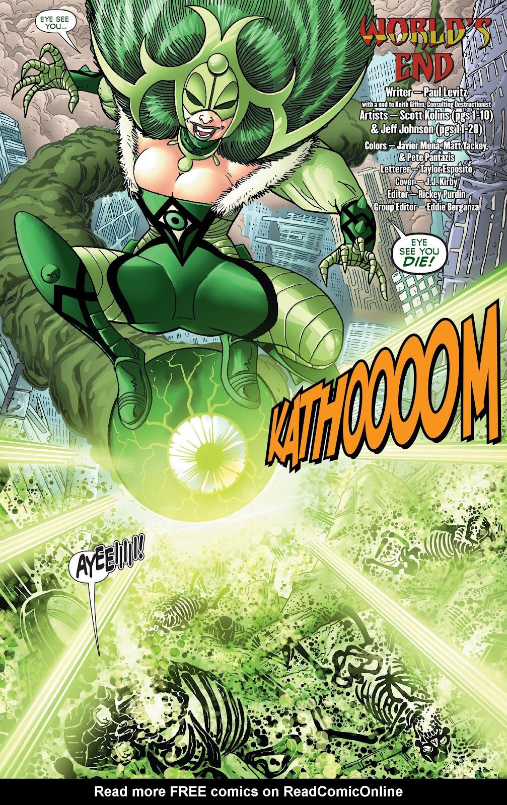 Legion of Super-Heroes (2011) Issue #19 #20 - English 4