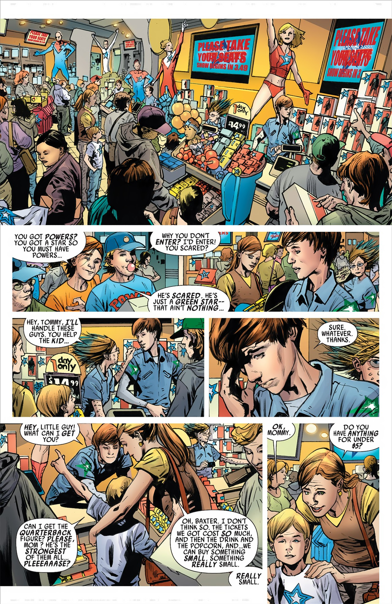 Read online America's Got Powers comic -  Issue #2 - 17