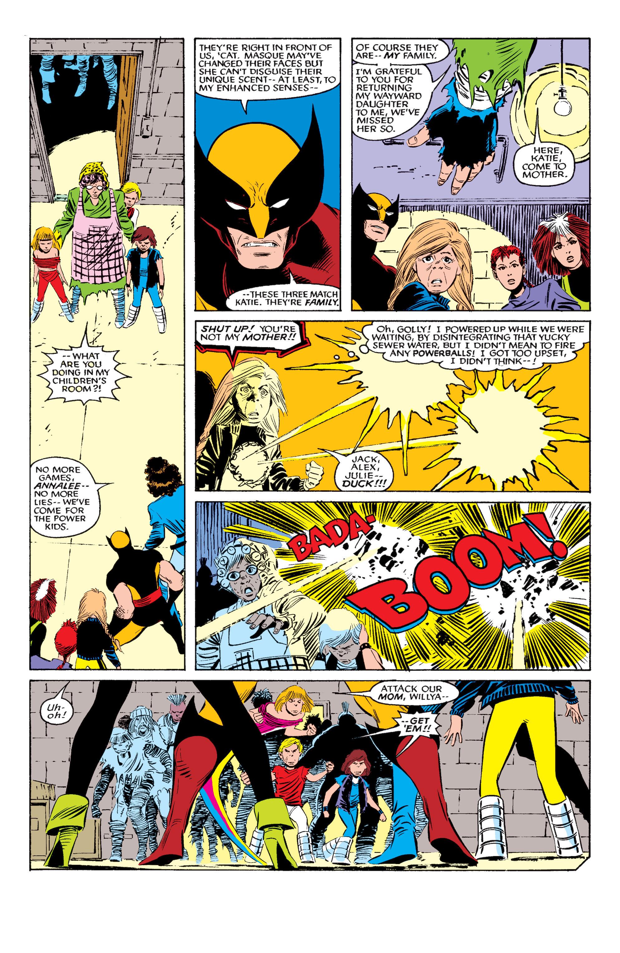 Read online Uncanny X-Men (1963) comic -  Issue #195 - 16