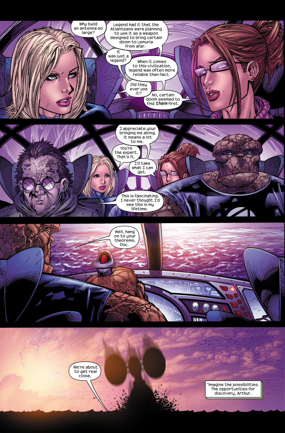 Read online Ultimate Fantastic Four (2004) comic -  Issue #60 - 8