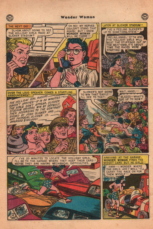 Read online Wonder Woman (1942) comic -  Issue #42 - 11