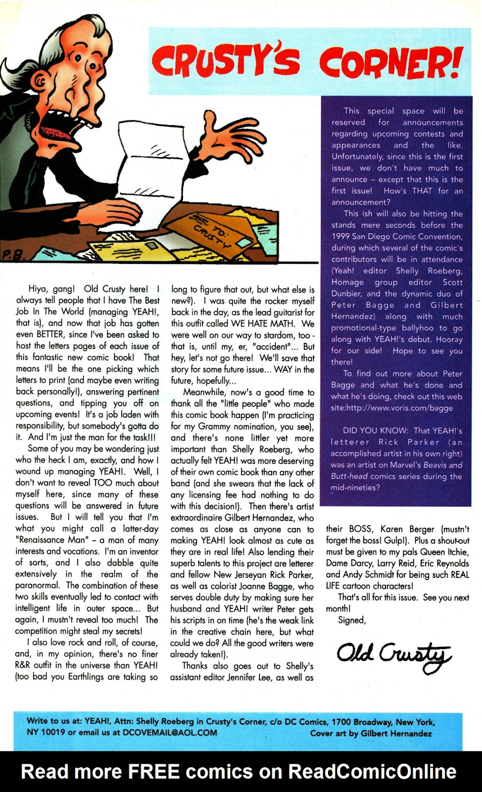 Read online Yeah! comic -  Issue #1 - 24