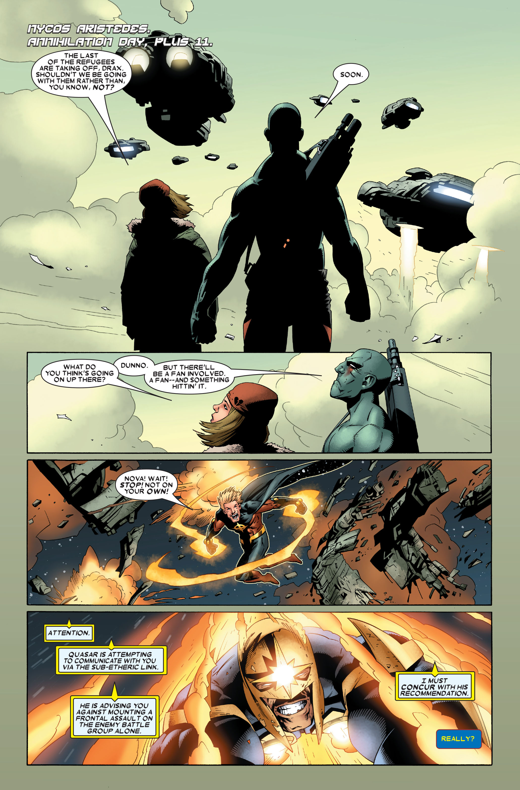 Read online Annihilation: Nova comic -  Issue #4 - 3