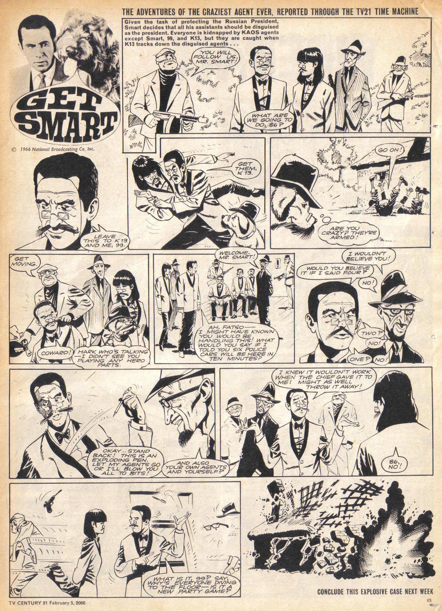 Read online TV Century 21 (TV 21) comic -  Issue #55 - 14