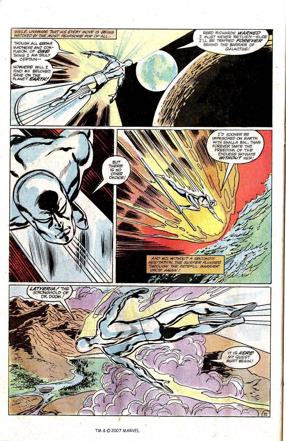 Read online Silver Surfer (1982) comic -  Issue # Full - 34