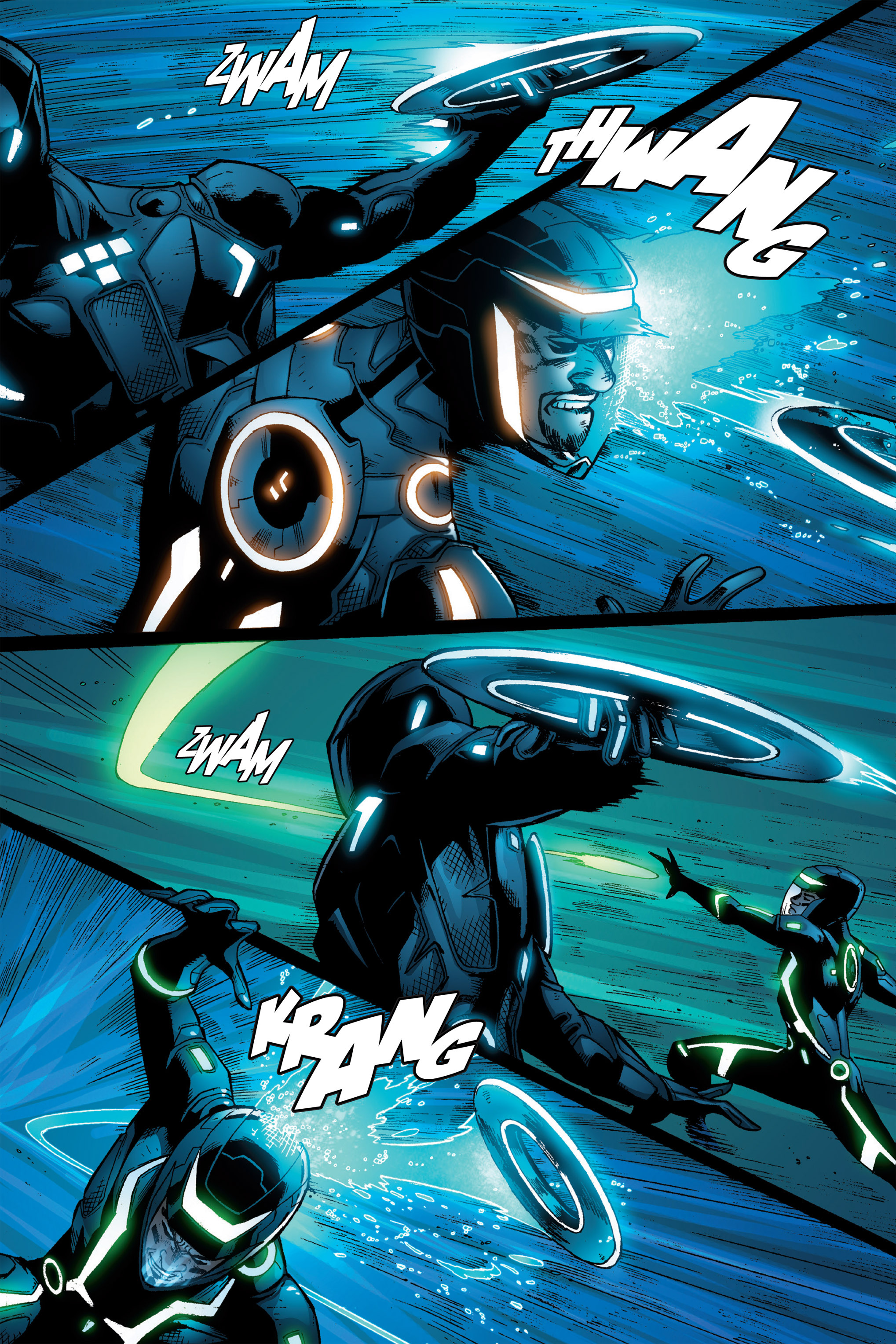 Read online TRON: Betrayal comic -  Issue # TPB - 79