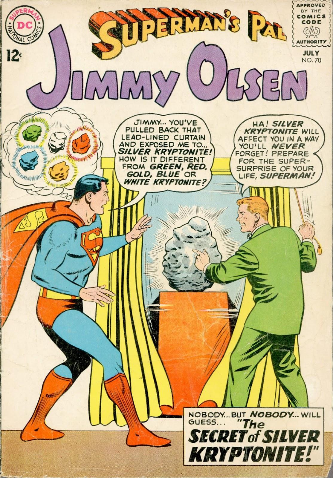 Supermans Pal Jimmy Olsen (1954) 70 Page 1
