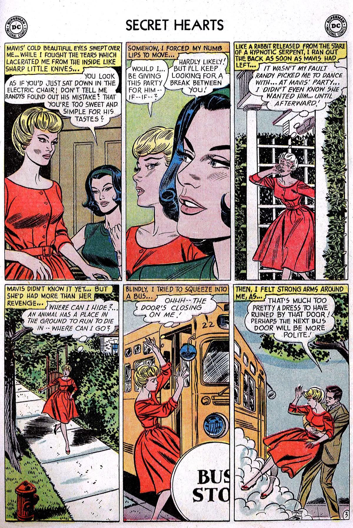 Read online Secret Hearts comic -  Issue #82 - 29