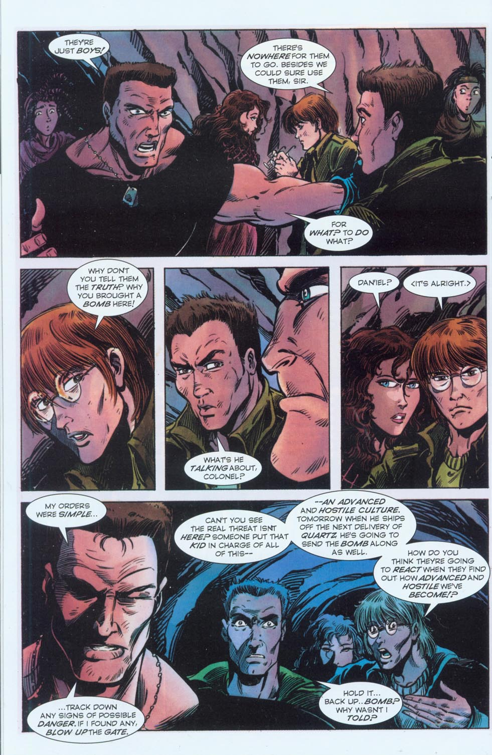 Read online Stargate comic -  Issue #3 - 22