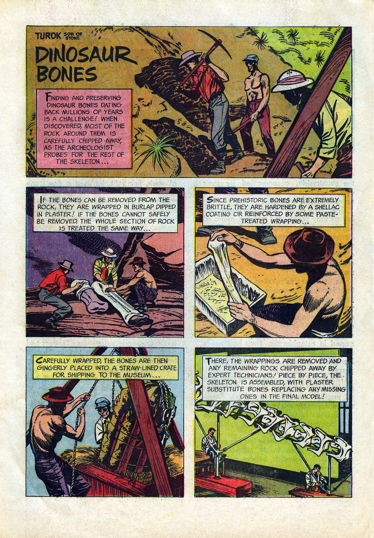 Read online Turok, Son of Stone comic -  Issue #45 - 19