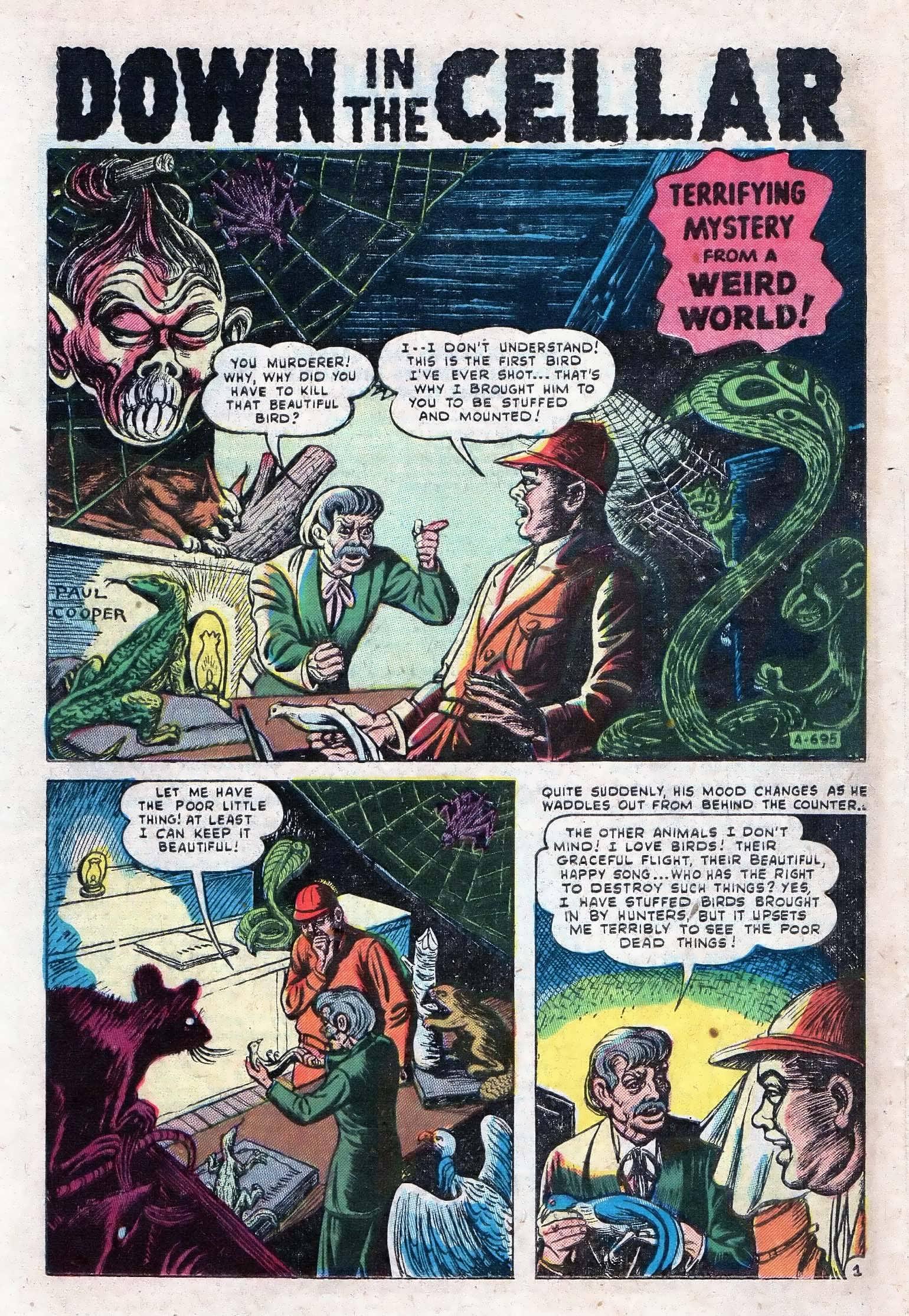 Read online Adventures into Weird Worlds comic -  Issue #10 - 21