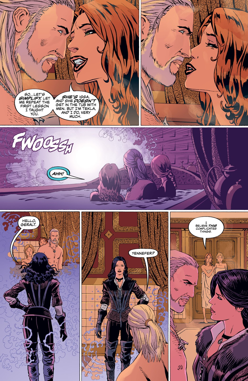 Read online The Witcher Omnibus comic -  Issue # TPB (Part 4) - 45