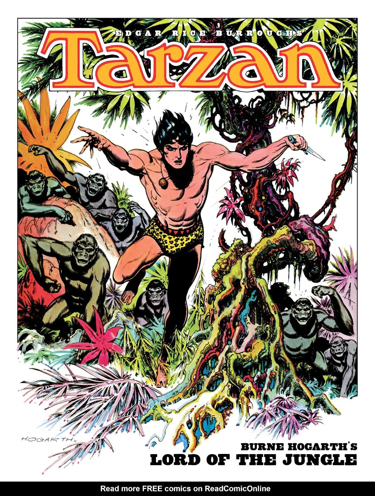 Edgar Rice Burroughs' Tarzan: Burne Hogarth's Lord of the Jungle issue TPB - Page 1