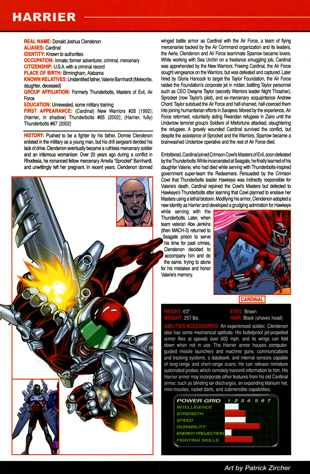 Read online All-New Official Handbook of the Marvel Universe A to Z comic -  Issue #5 - 14