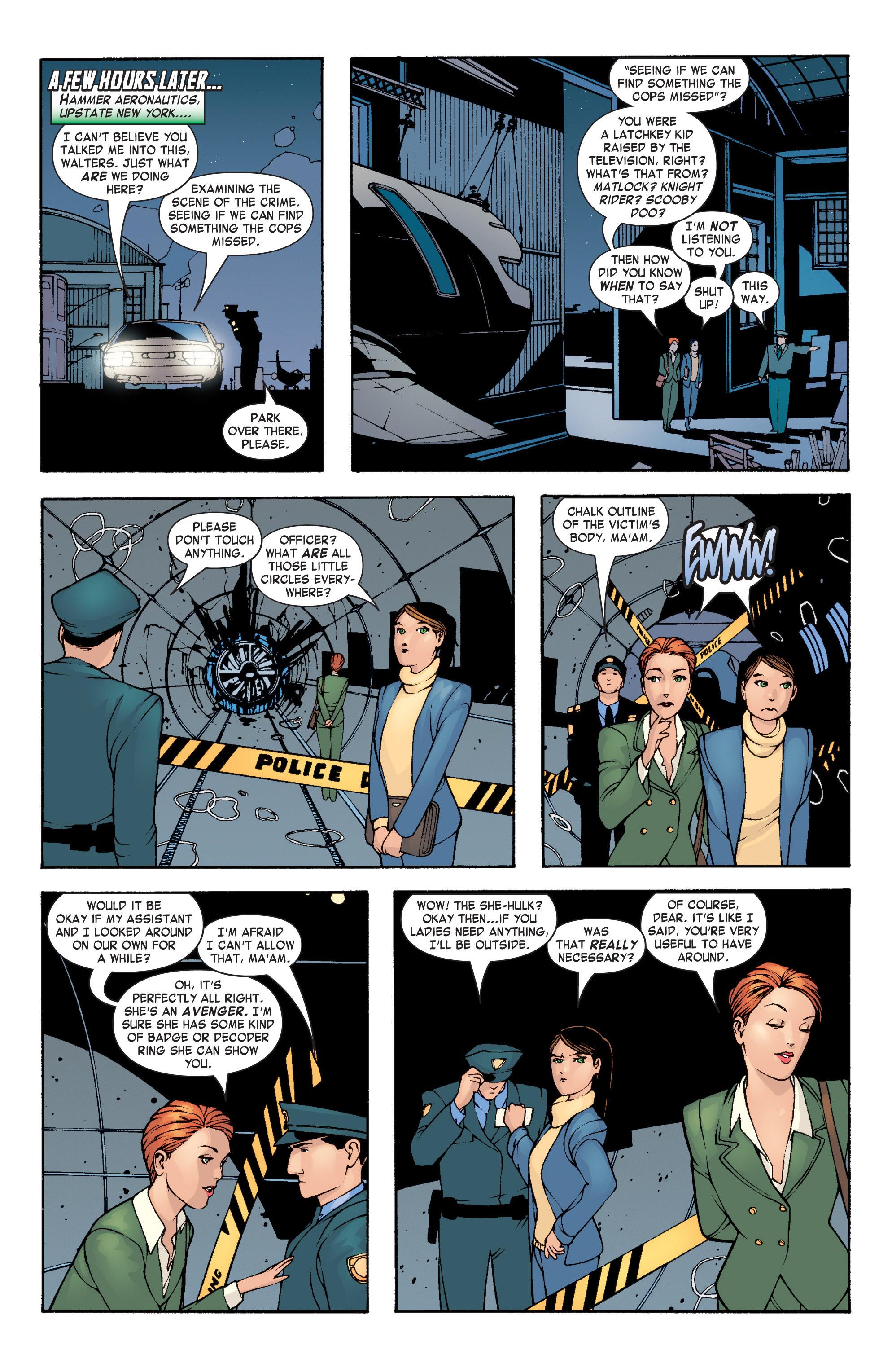 Read online She-Hulk (2004) comic -  Issue #3 - 18