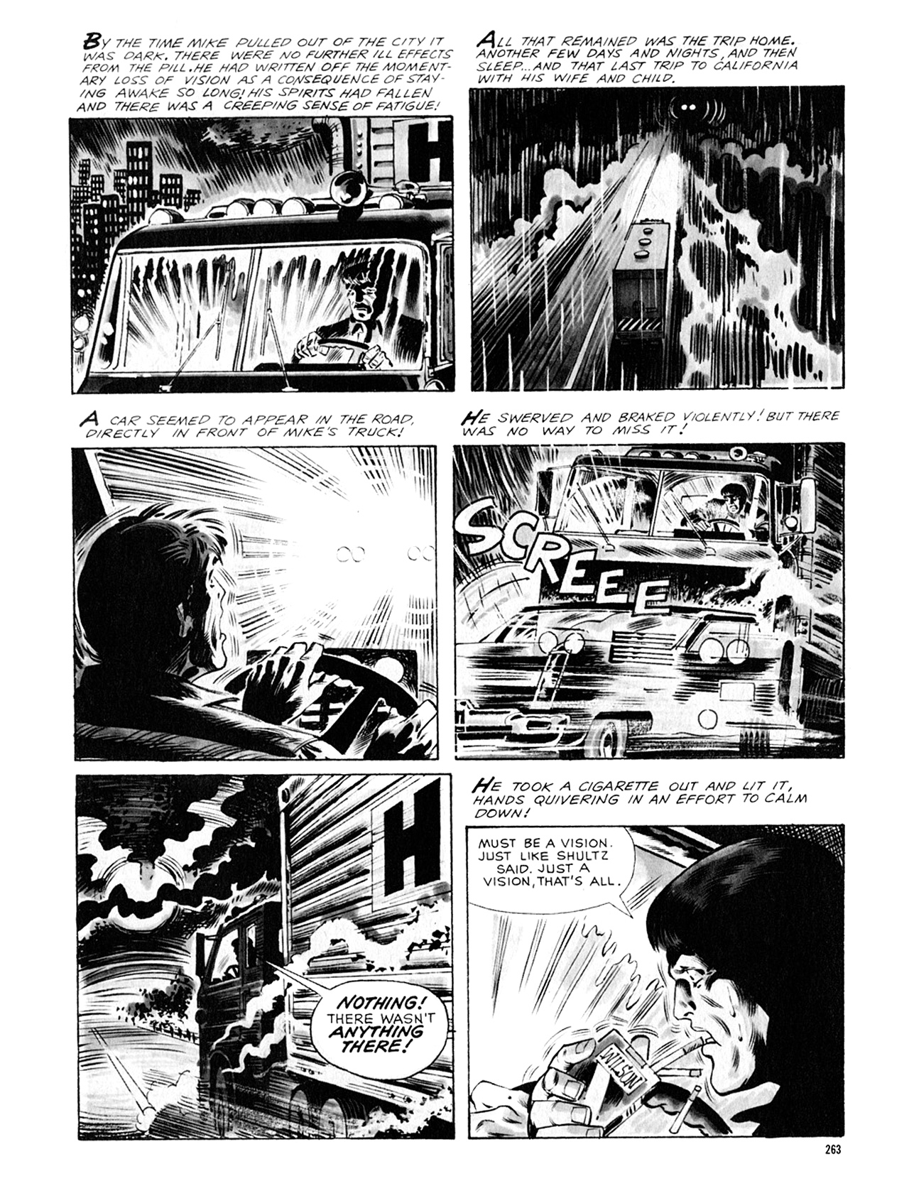 Read online Eerie Archives comic -  Issue # TPB 8 - 264