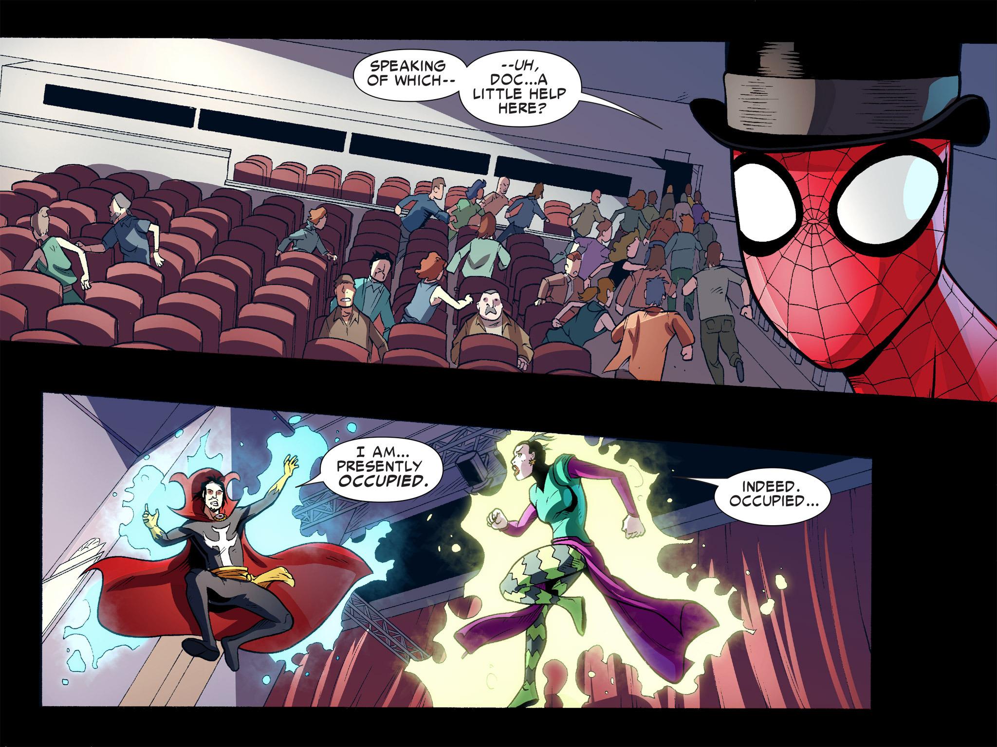 Read online Ultimate Spider-Man (Infinite Comics) (2016) comic -  Issue #10 - 9
