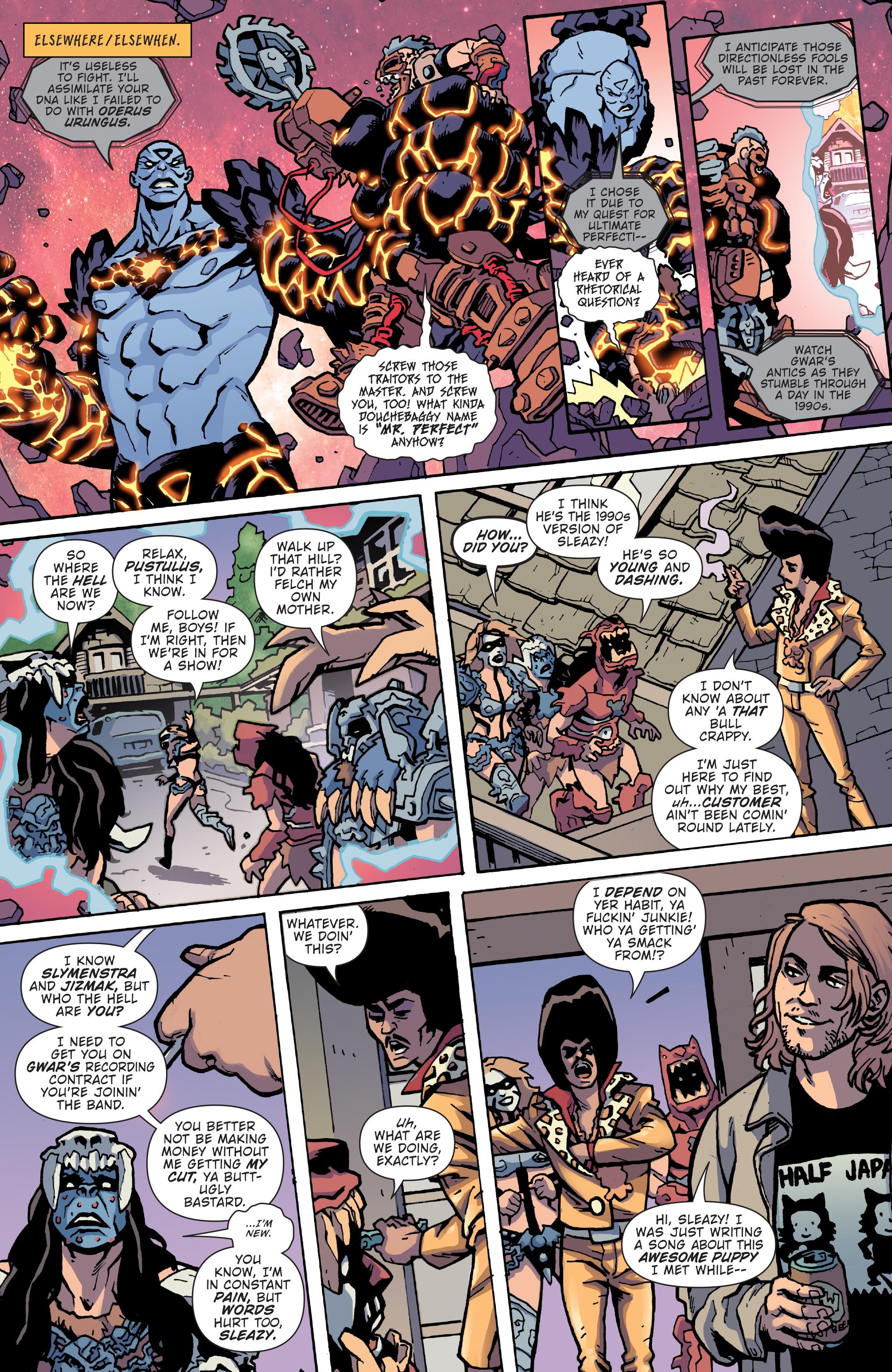 Read online Gwar: Orgasmageddon comic -  Issue #1 - 17