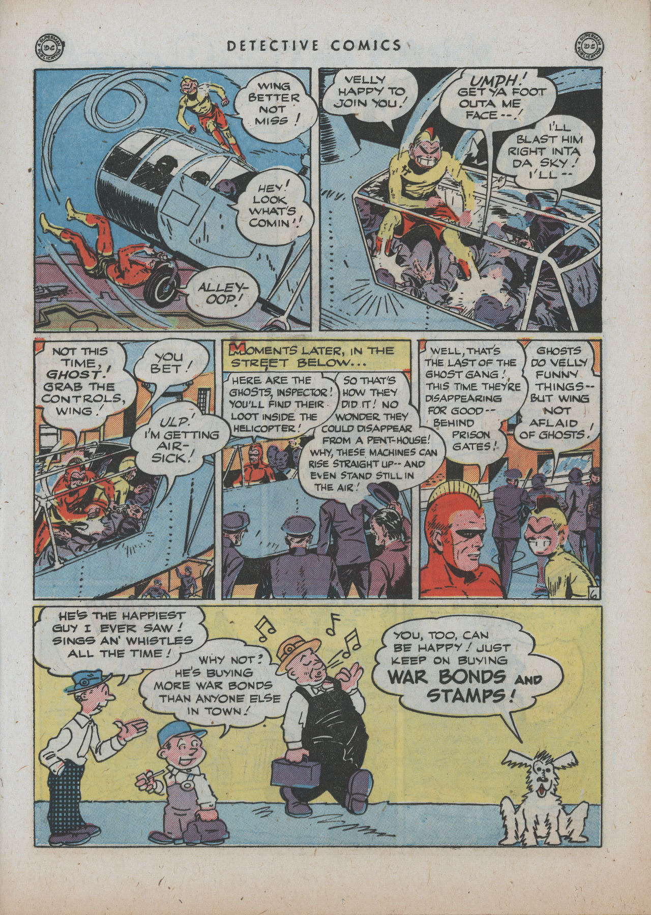 Read online Detective Comics (1937) comic -  Issue #89 - 33