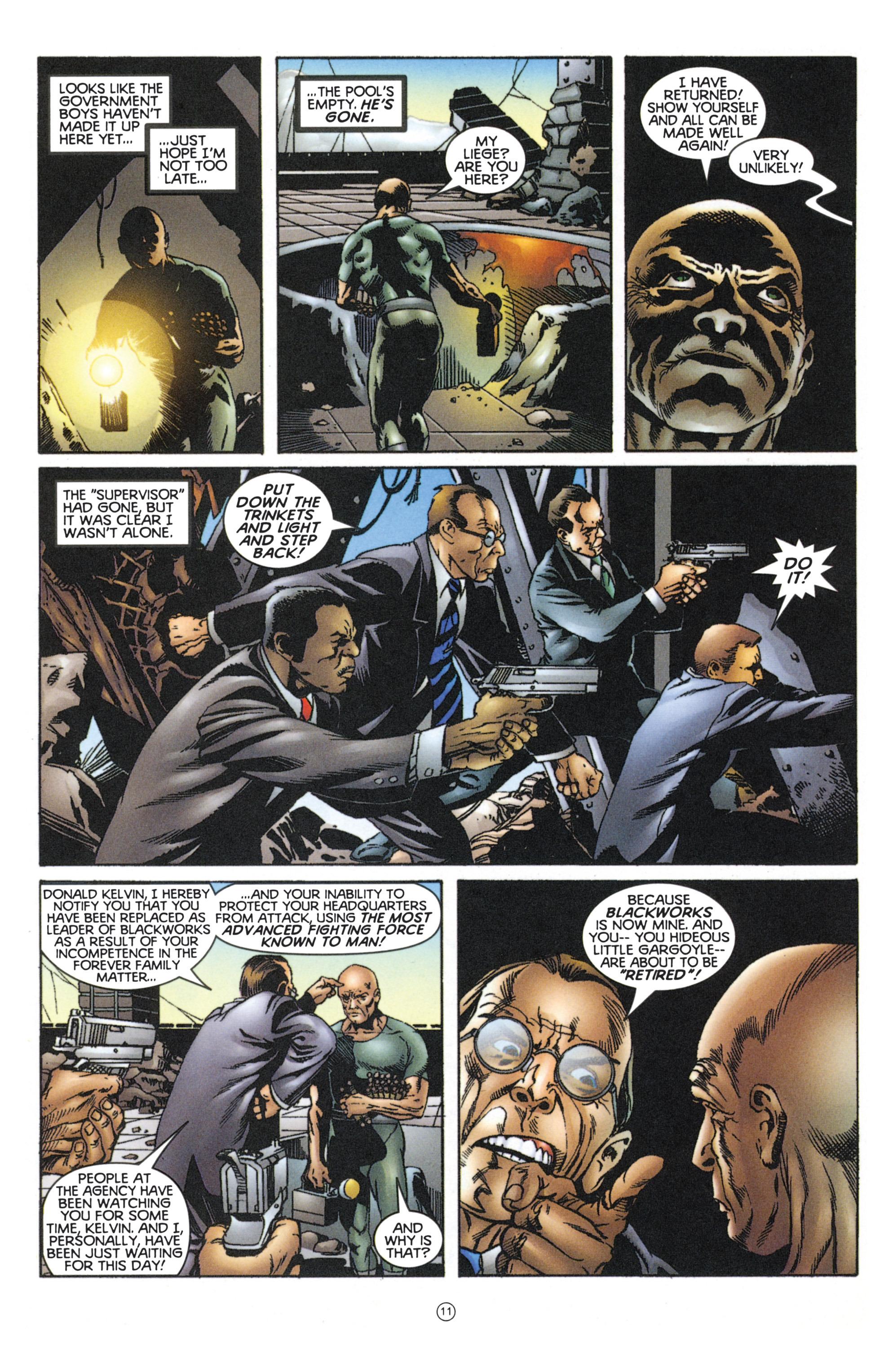 Read online Eternal Warriors comic -  Issue # Issue Mog - 10
