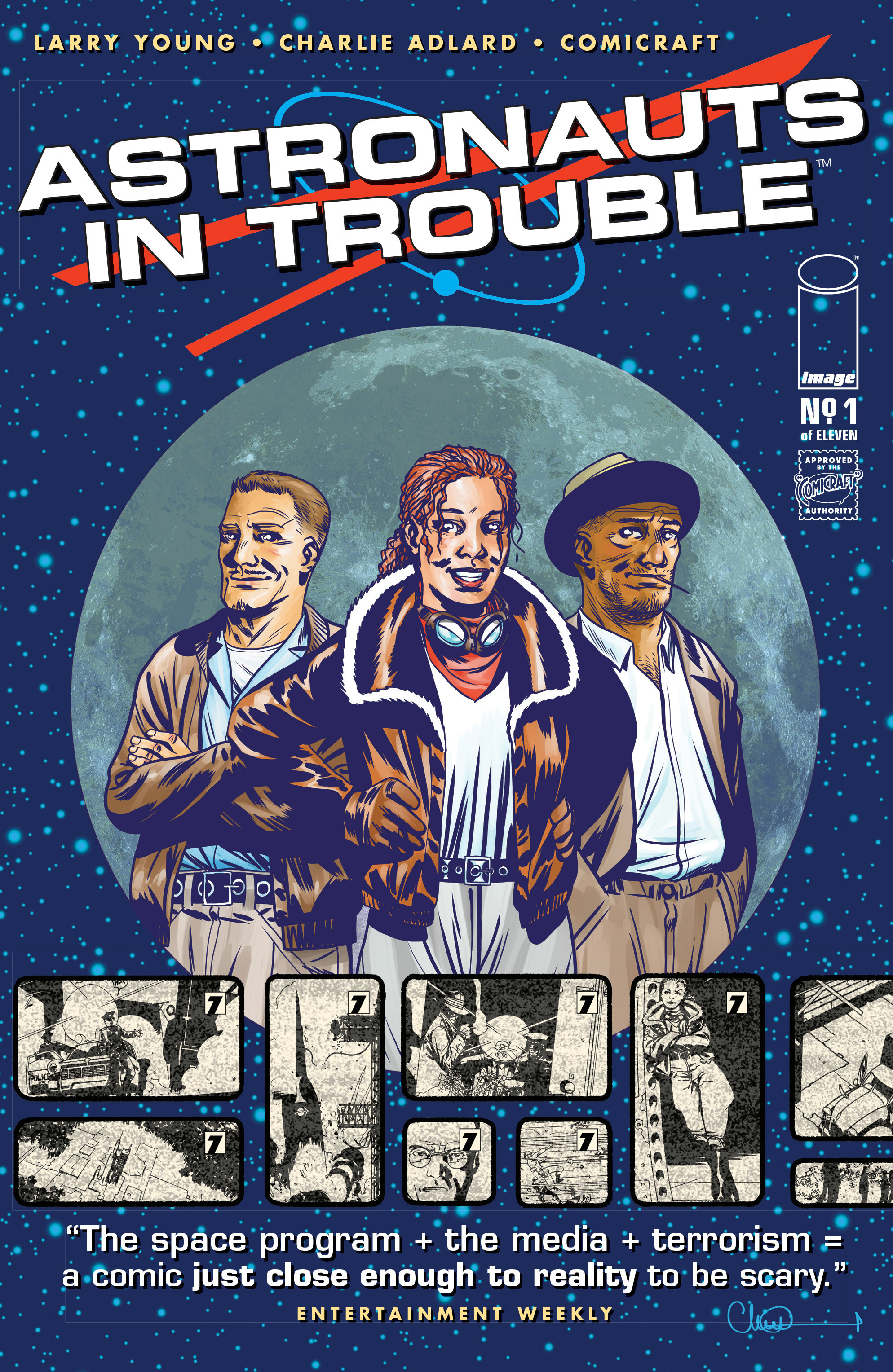 Read online Astronauts in Trouble (2015) comic -  Issue #1 - 1