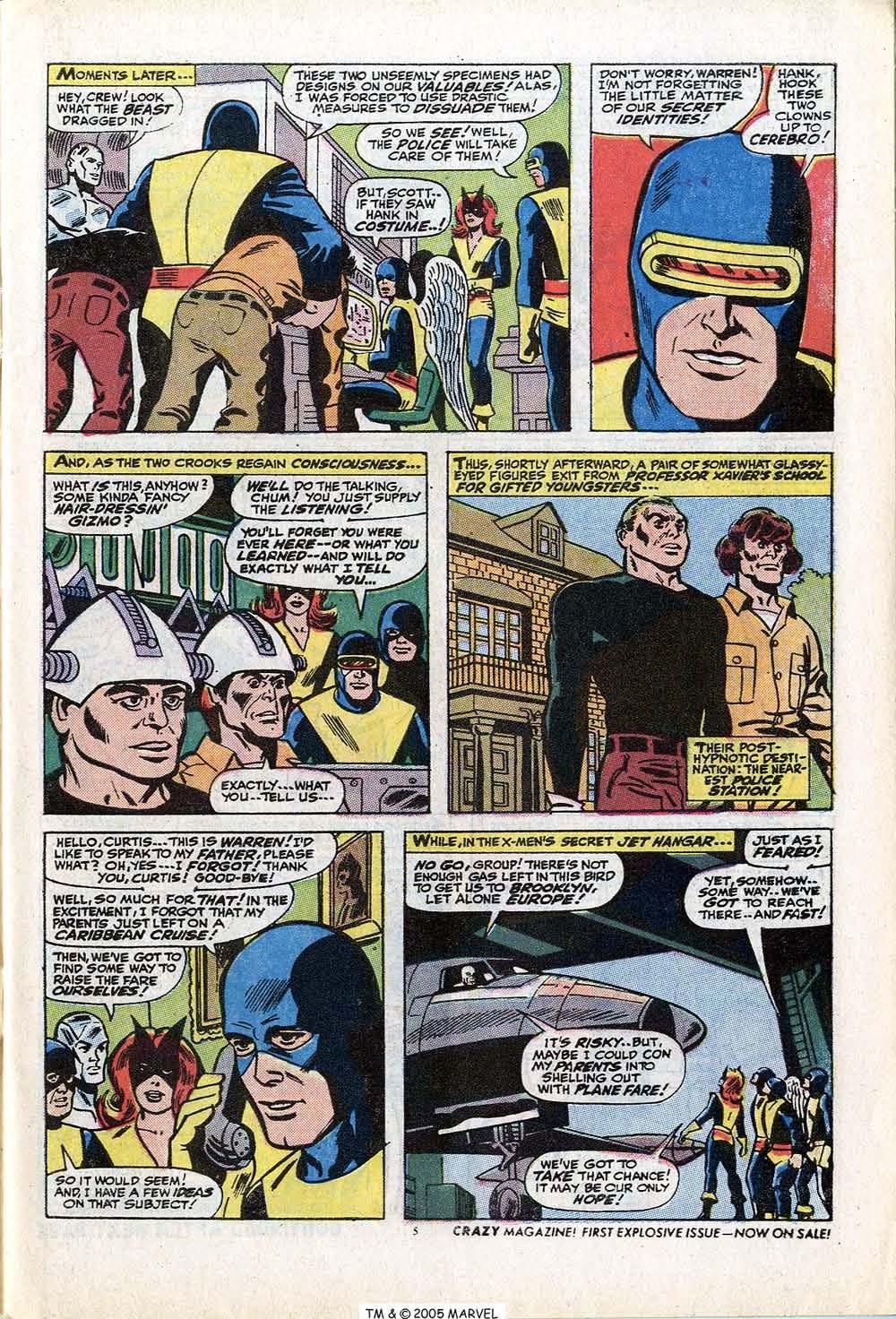 Uncanny X-Men (1963) 84 Page 6