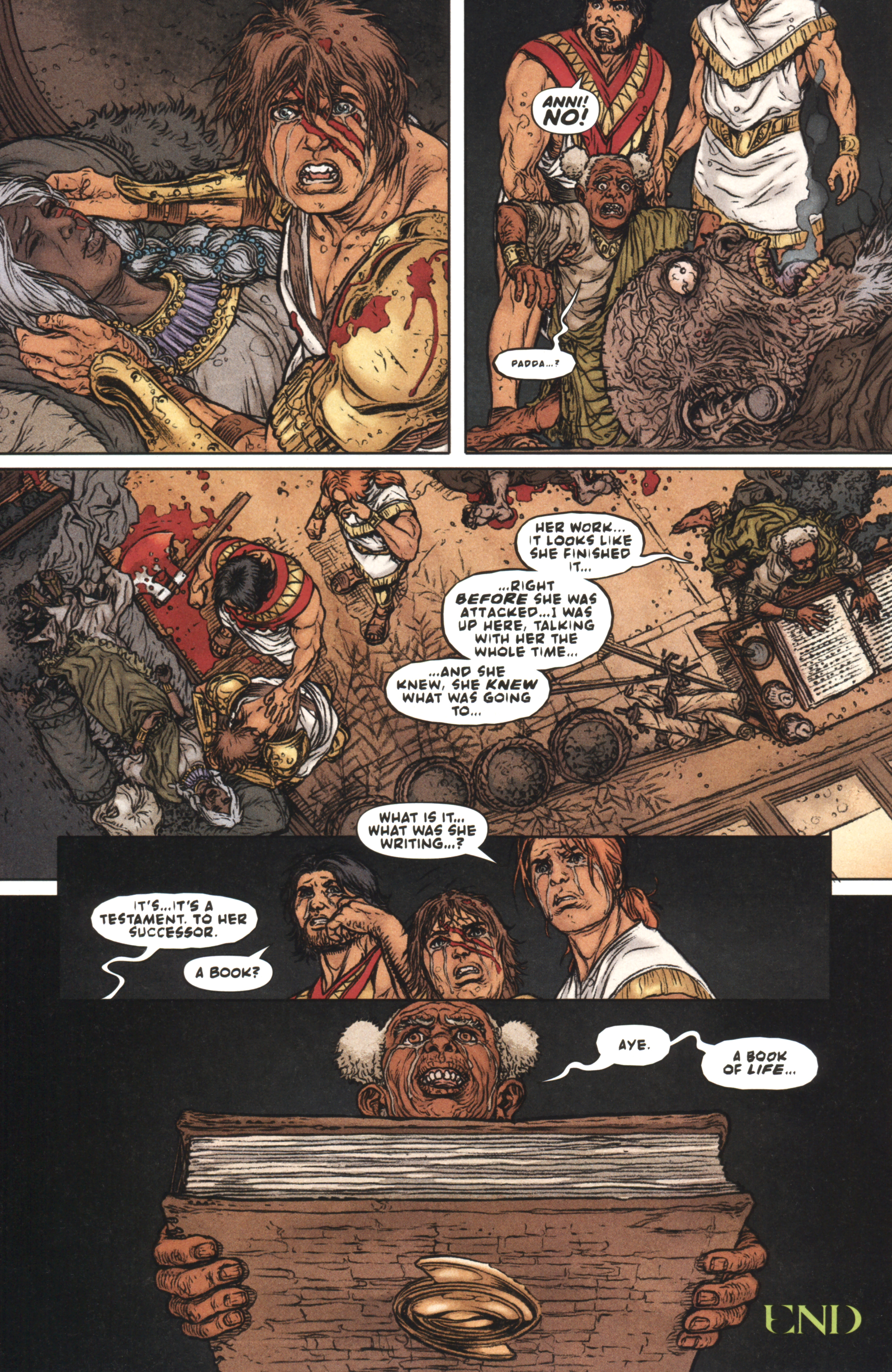 Read online Book of Death: Legends of the Geomancer comic -  Issue #4 - 19