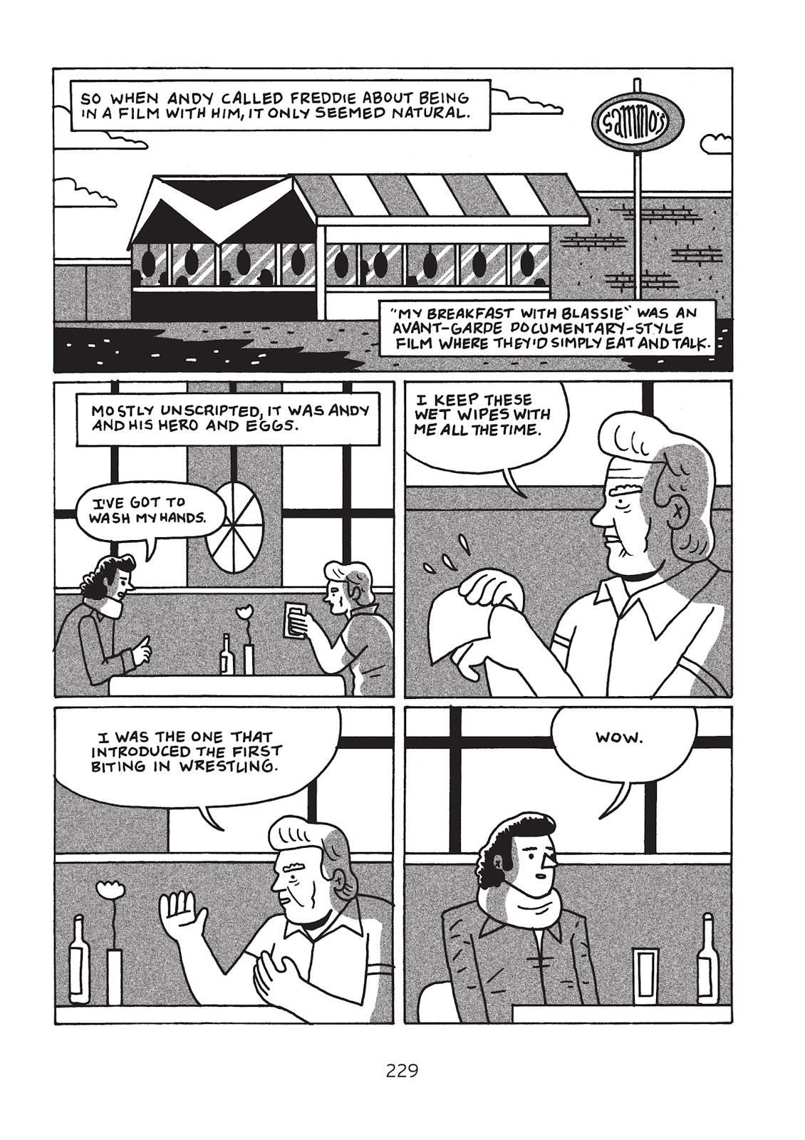 Read online Is This Guy For Real?: The Unbelievable Andy Kaufman comic -  Issue # TPB (Part 3) - 34