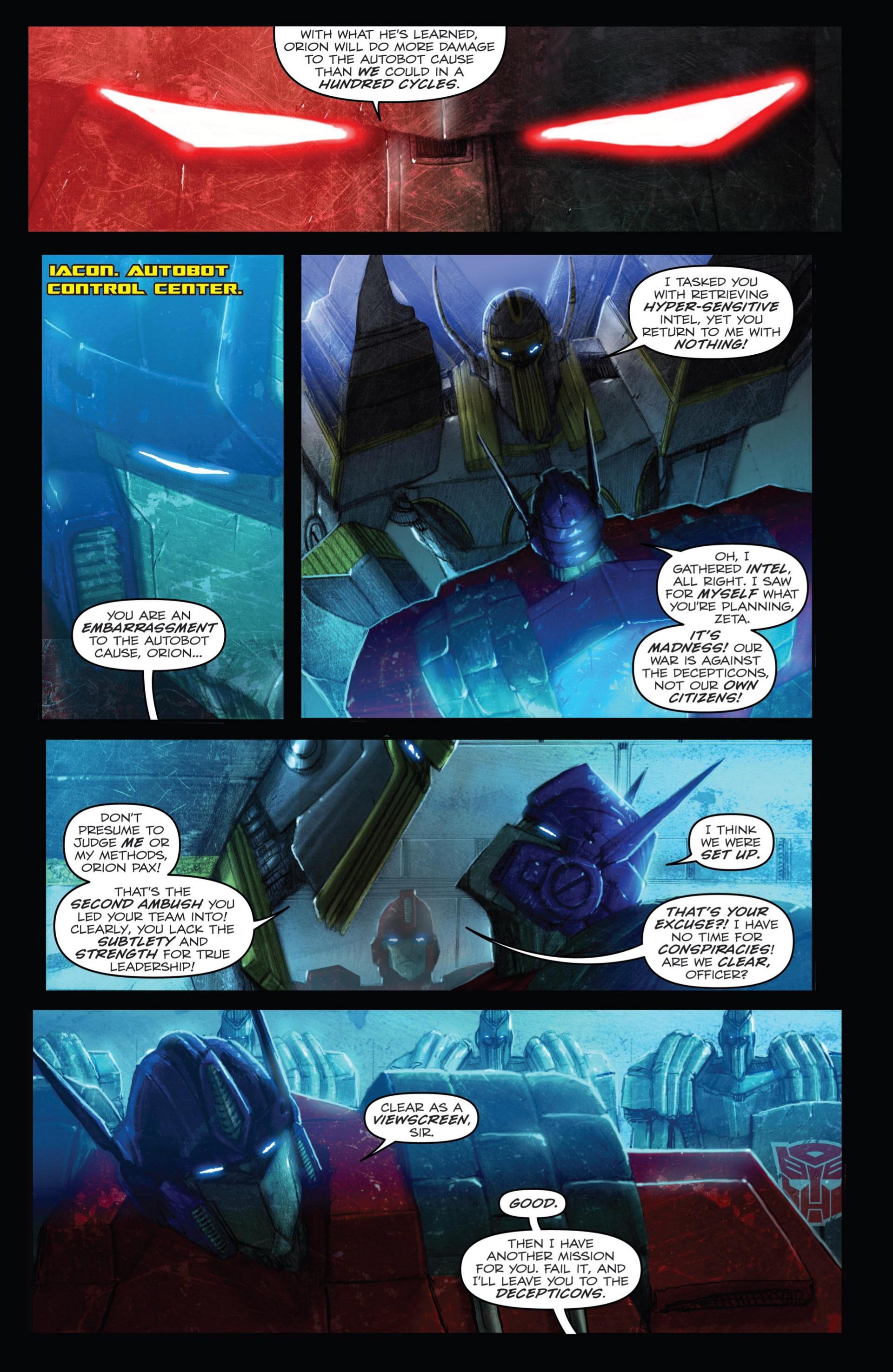 Read online Transformers: Autocracy comic -  Issue # Full - 41