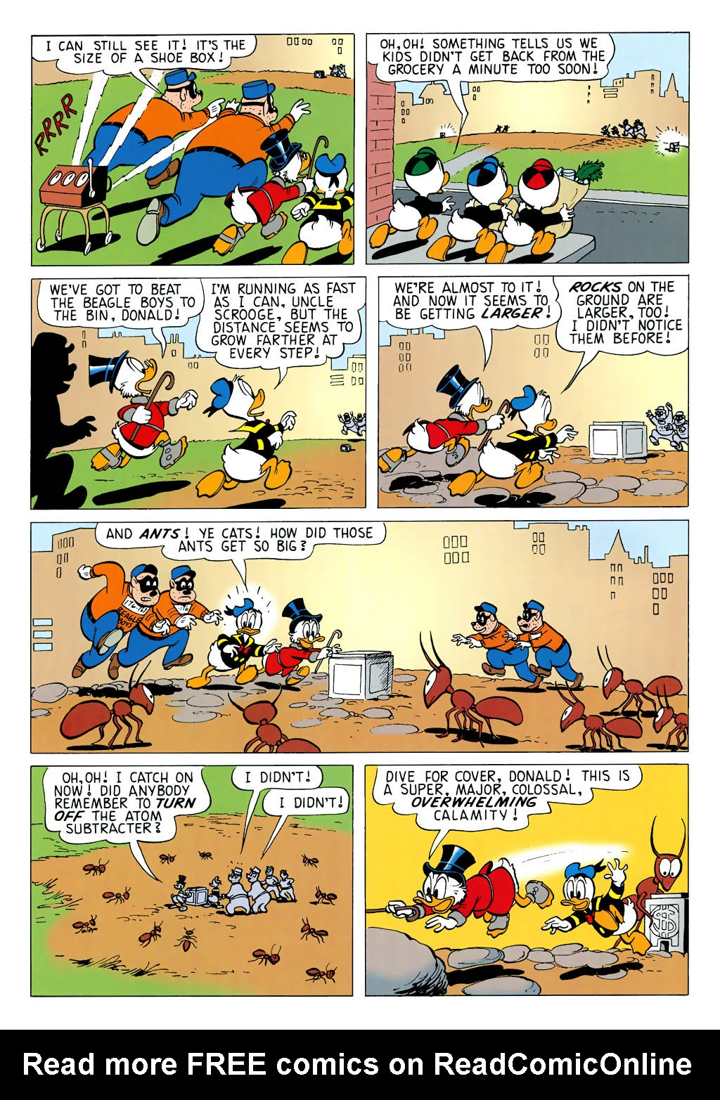Read online Uncle Scrooge (1953) comic -  Issue #323 - 28