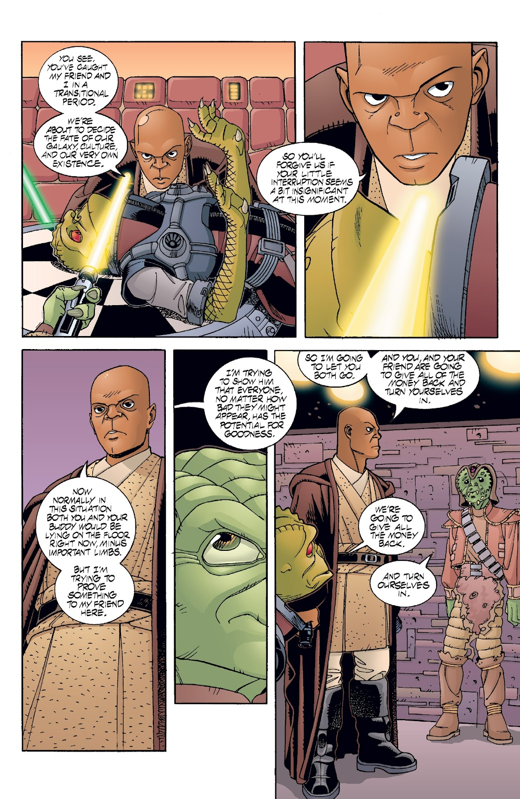 Read online Star Wars Legends: Rise of the Sith - Epic Collection comic -  Issue # TPB 2 (Part 5) - 75