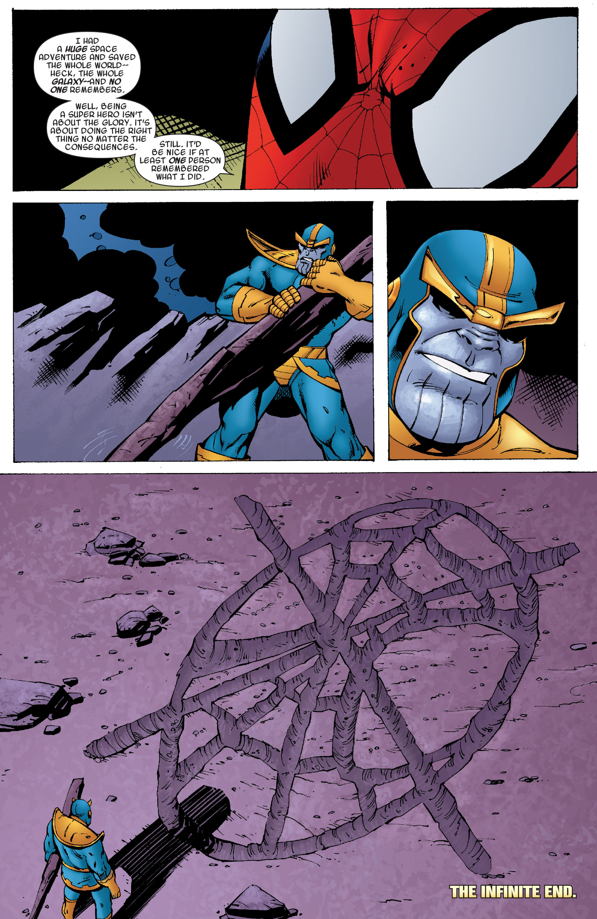 Read online Avengers & the Infinity Gauntlet comic -  Issue #4 - 23