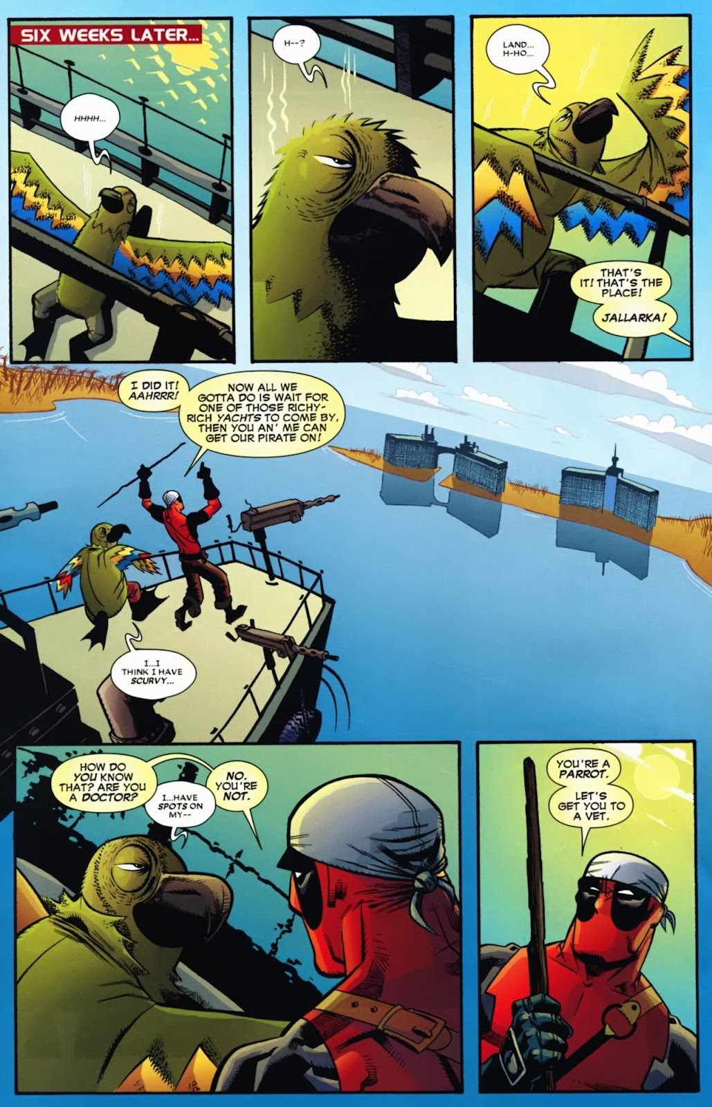 Read online Deadpool (2008) comic -  Issue #13 - 17