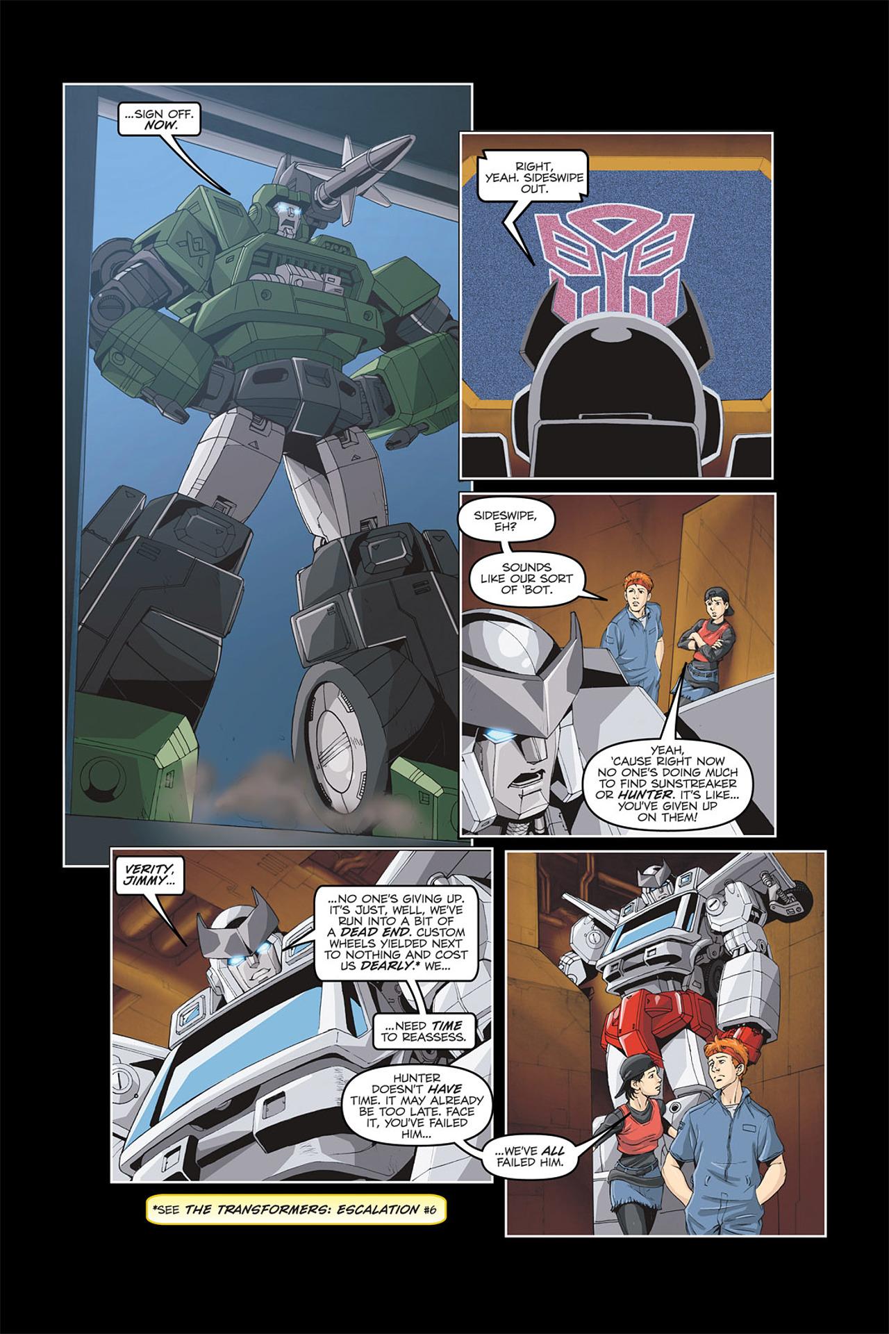 Read online Transformers Spotlight: Galvatron comic -  Issue # Full - 12
