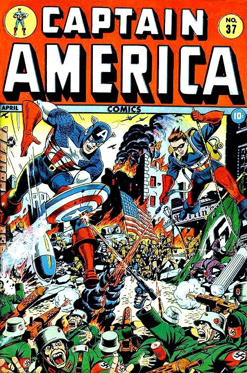 Captain America Comics 37 Page 1
