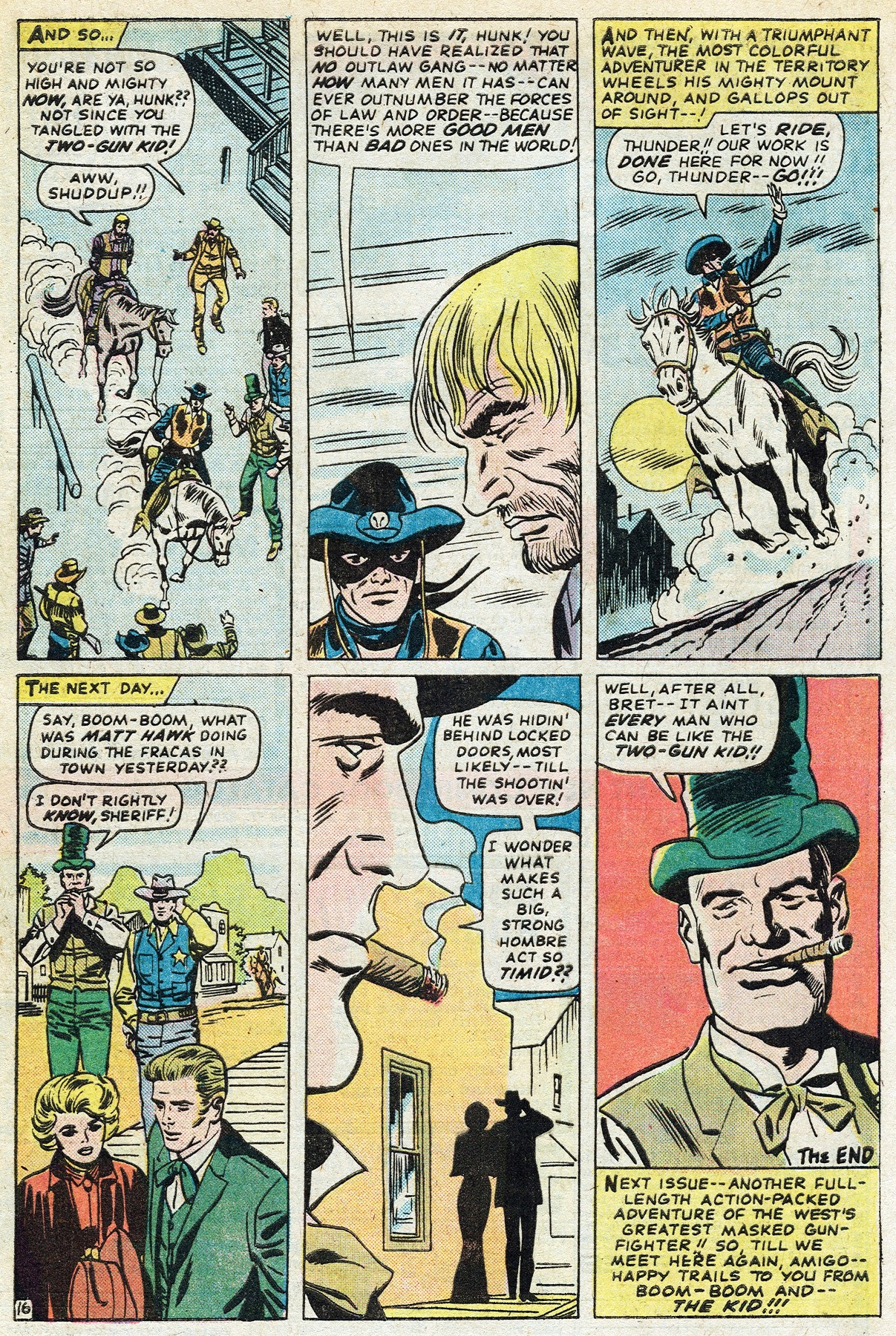 Read online Two-Gun Kid comic -  Issue #122 - 28