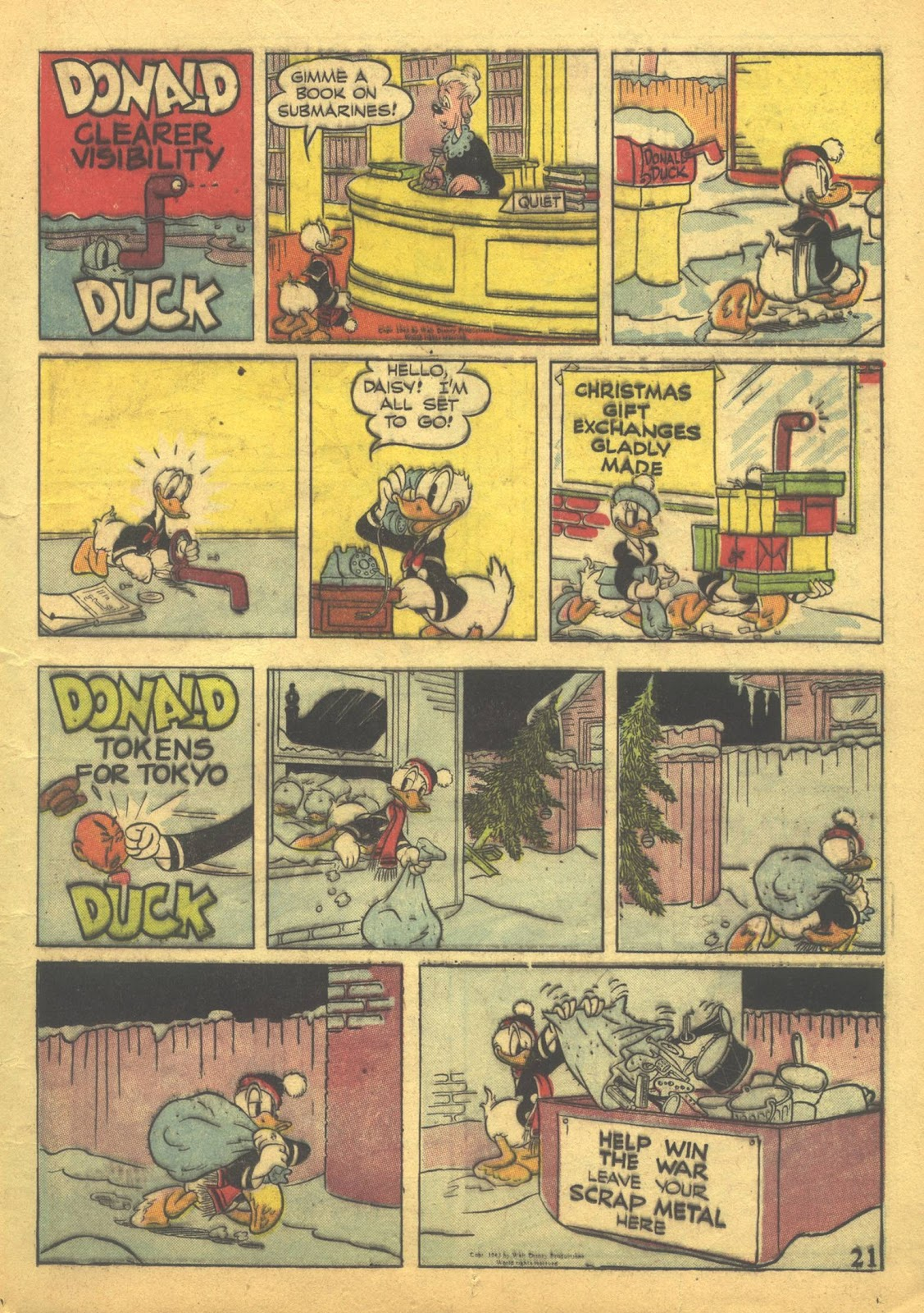 Walt Disney's Comics and Stories issue 41 - Page 23