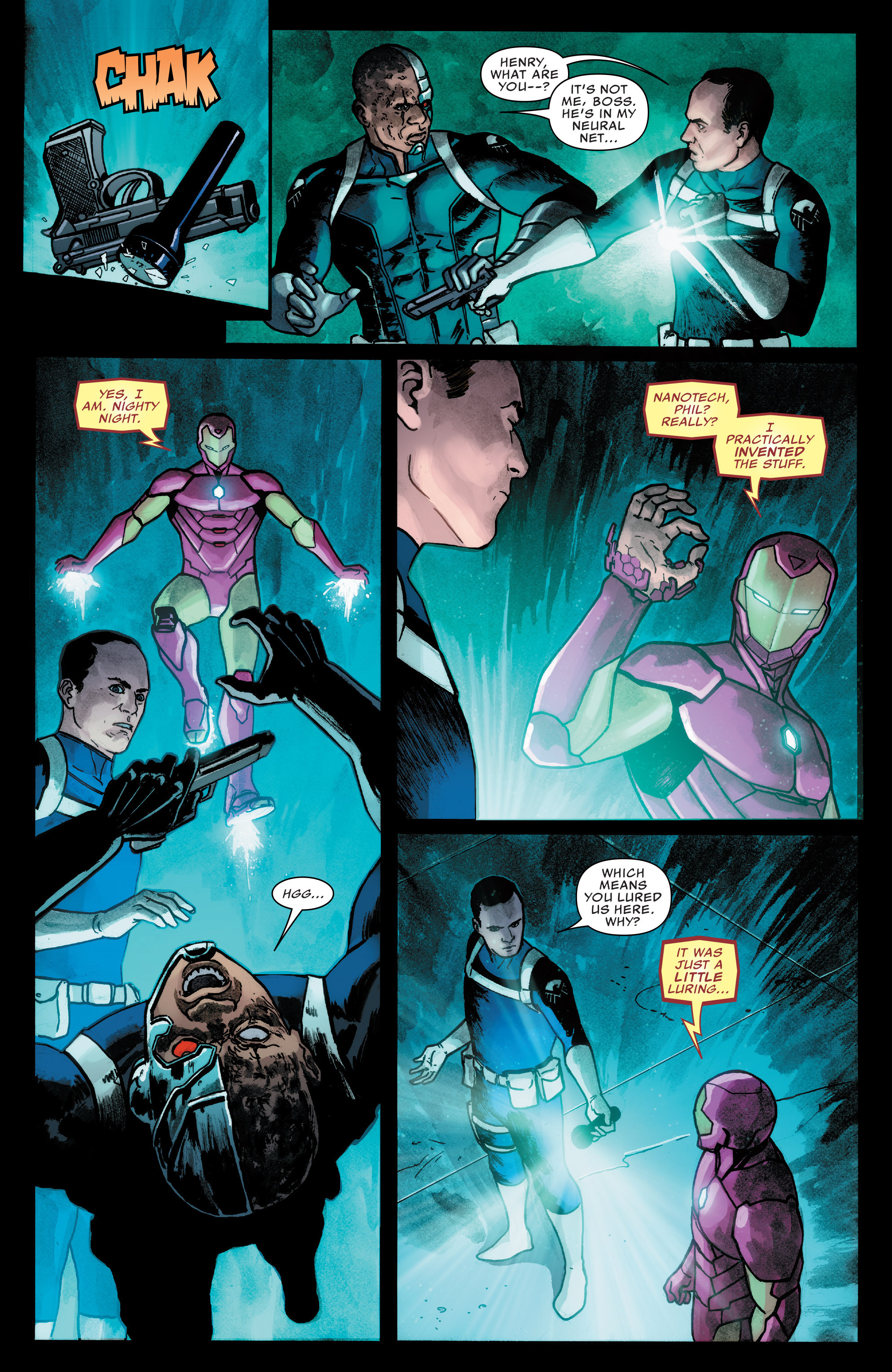 Read online Agents of S.H.I.E.L.D. comic -  Issue #7 - 14