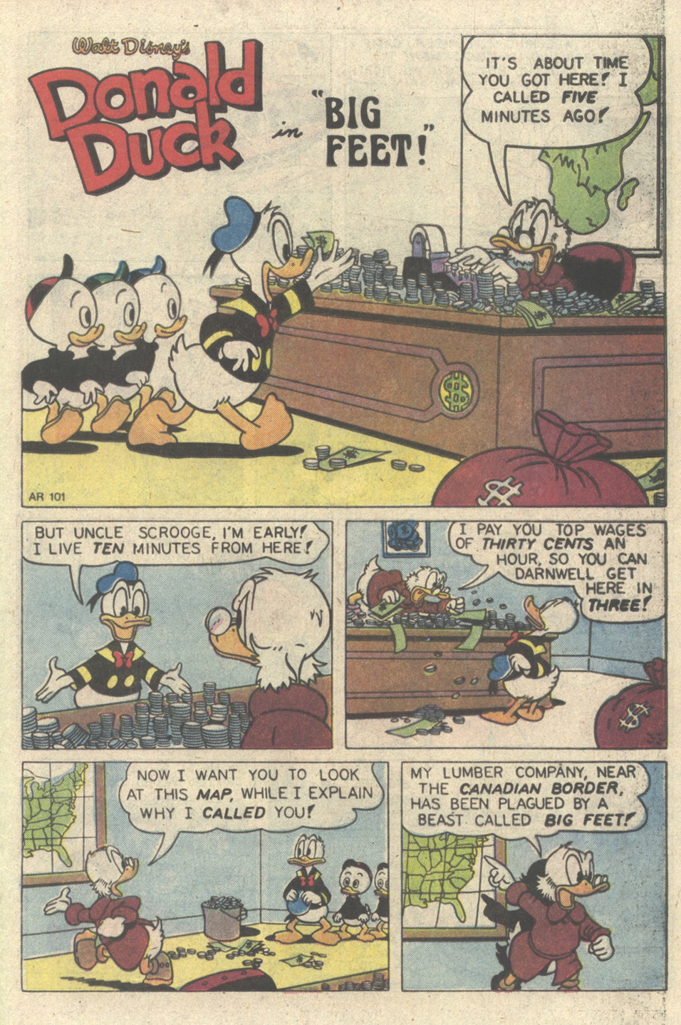 Walt Disney's Donald Duck (1986) issue 249 - Page 25